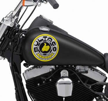Sticker decorativo logo storico Bultaco