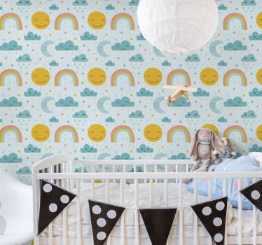 Decorating your nursery in a calm way is important to help relax your baby into a peaceful sleep, so why not opt for our nursery wallpapers?