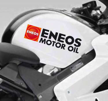 Sticker moto logo Eneos