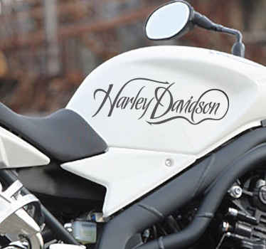 Harley Davidson Bike Sticker