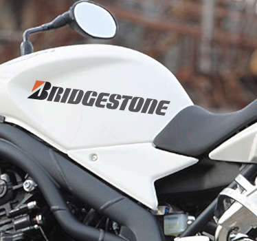 Sticker decorativo logo Bridgestone