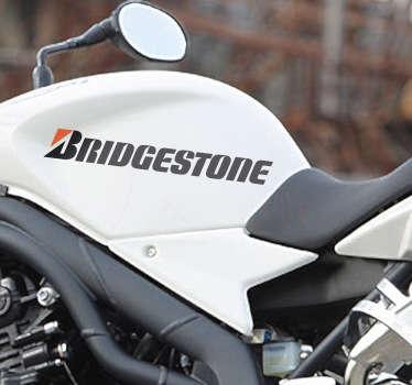 Vinilo moto logotipo Bridgestone