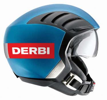 Derbi Logo Sticker