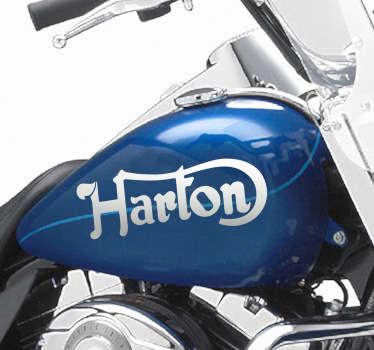 Sticker decorativo logo Harton