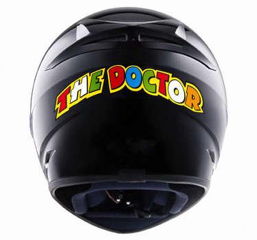 Sticker moto The Doctor Rossi