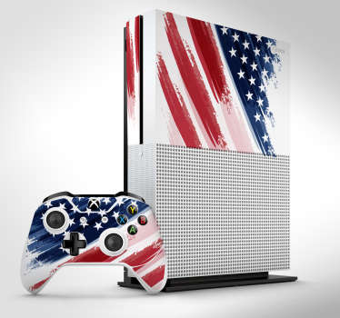 If you are a US citizen or have an adoration for the country then this USA Xbox sticker is perfect for you! Easy to apply