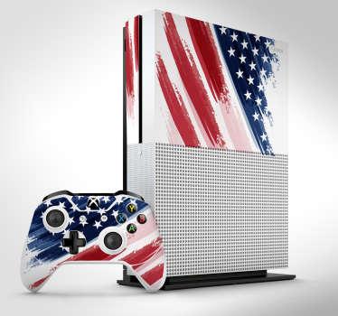 USA Xbox sticker