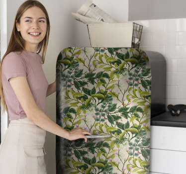 Vegetation fridge wrap