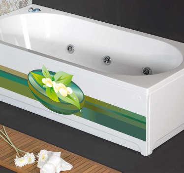 Vinilo decorativo ilustración spa