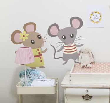 Mäuse Aufkleber