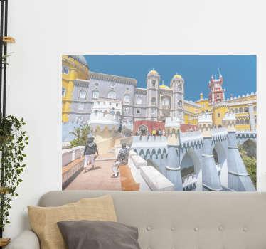 Autocolantes com cidades e países Palácio da Pena - Sintra