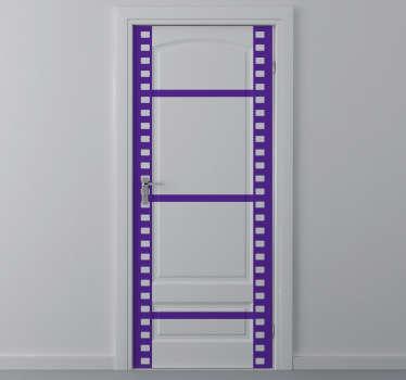 Roll Film Door Sticker