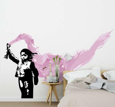 Adesivo da parete di Banksy a Venezia prodotto dell'opera d'arte banksy venecia che metterà un'aura speciale sul muro. Questo prodotto è facile da applicare.