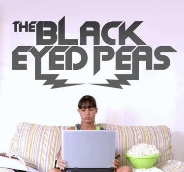 Naklejka dekoracyjna Black Eyed Peas