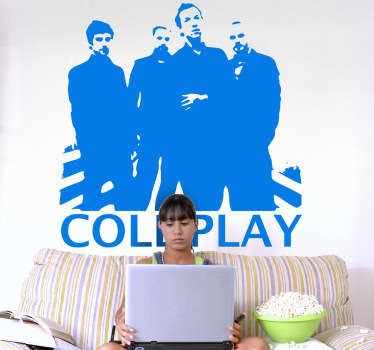 Coldpay Sticker