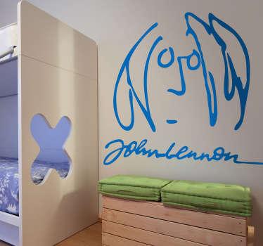 Sticker decorativo John Lennon 1