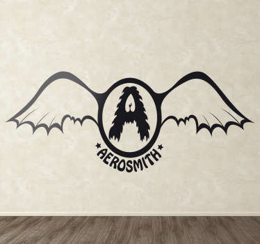 Aerosmith Vintage Logo Sticker