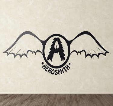 Aerosmith Vintage Logo Sticker