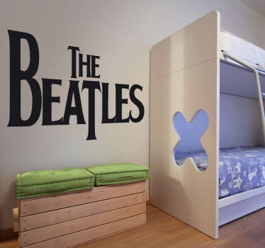 Autocolantes decorativos de rock Logo Beatles
