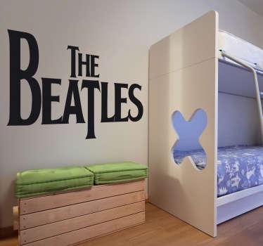 Vinilo decorativo logo Beatles
