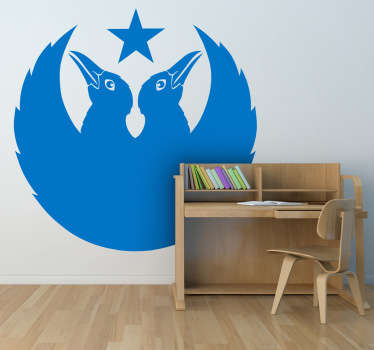 Black Crowes Logo Wall Sticker