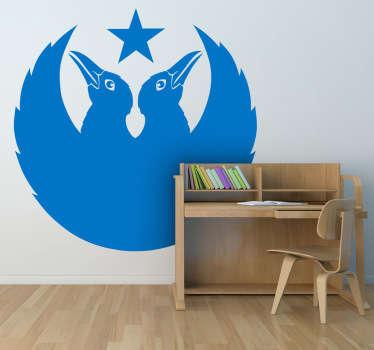 Black Crowes Logo Wall Sticker