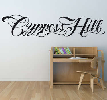 Vinilo decorativo logo Cypress Hill