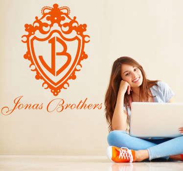 Vinilo decorativo logo Jonas Brothers