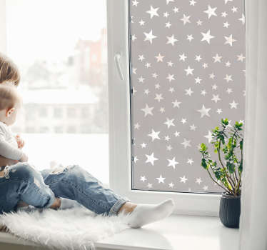 Butterfly shape window decal created in a transparent form that you will love to decorate your window especially for your kid bedroom.