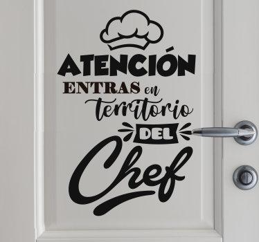 Un diseño de vinilo frase de cocina creado para estimular su arte culinario en la cocina. Diseño de texto original y fácil de aplicar.