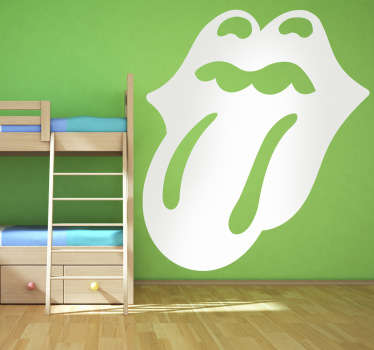 Rolling Stones Tongue Logo Sticker