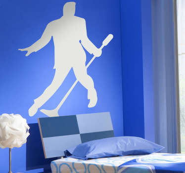 Sticker decorativo silhouette Elvis Presley