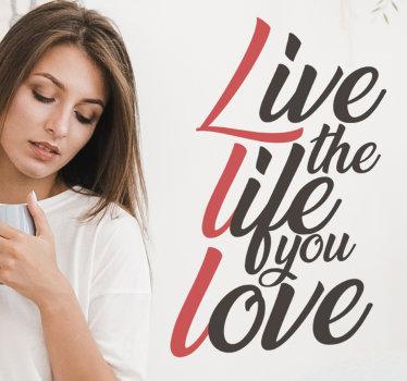 Vinilo pared frase motivadora que puede aplicar en su pared en casa para embellecerla y mantenerlo inspirado ¡Envío a domicilio!