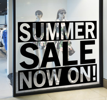 Shop window sticker for sales that you will admiire it look and feel on the surface. This design contains the text you need to promote sales.
