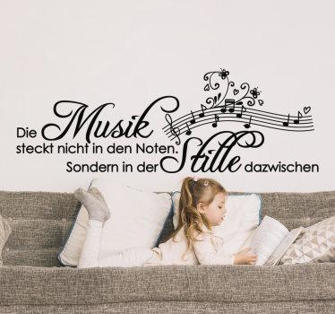 Einfach, dekorative musik text zitat wandtattoo von mozart anzuwenden, um das wohnzimmer in jeder farbe zu gestalten, die sie bevorzugen.