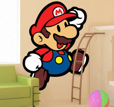 Sticker kinderen Supermario