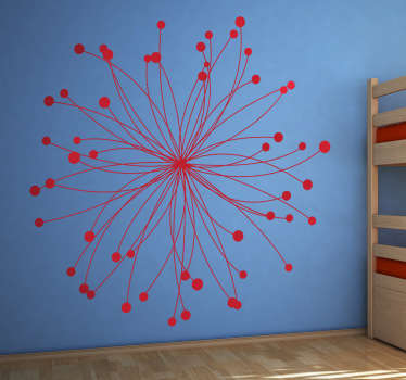 Science wall stickers - Atom decal for lovers of science! Can be used as a school wall sticker or a science lab sticker.