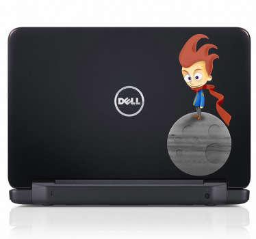 Sticker laptop kleine prins