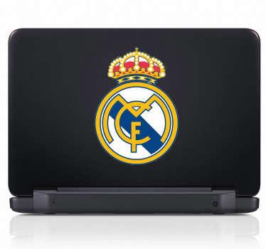 Naklejka na laptop Real Madryt