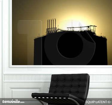 Photo murale usine