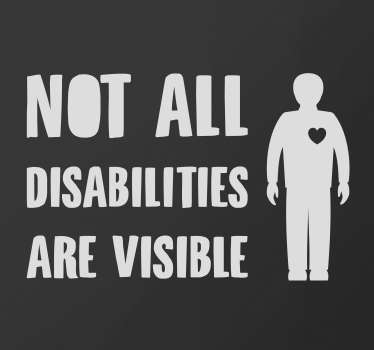 Disabled on board car sticker to apply on the body of vehicles using the road. Buy it in any of the available colours and sizes we have.