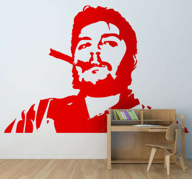 Sticker décoratif Che Guevara cigare