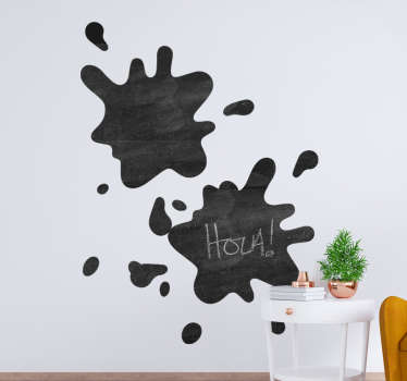 Write on sticker for all flat wall surface. Choose it in the best suitable size. Easy to apply and self adhesive from the best quality material.