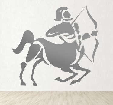 Naklejka znak zodiaku strzelec