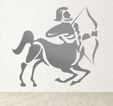 Sticker decorativo oroscopo Sagittario