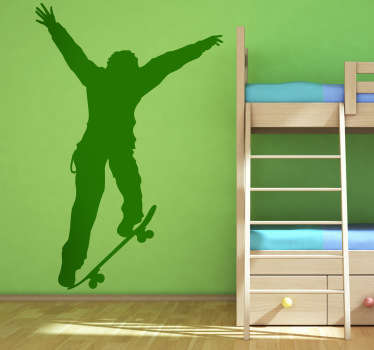 Skater Wall Sticker