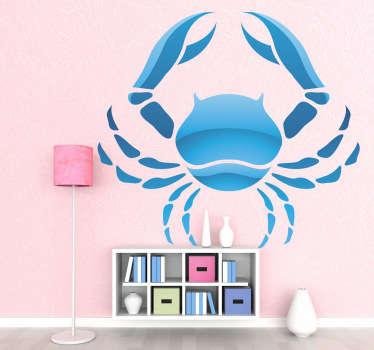Krebs Horoskop Aufkleber