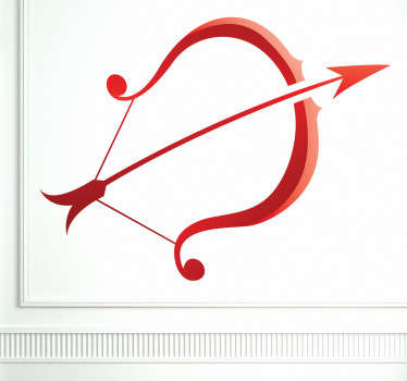 Adhésif mural signe sagittaire