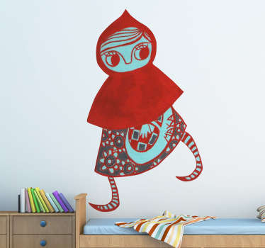 Little Red Riding Hood Wall Sticker