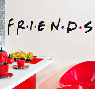 Vinilo decorativo logo Friends